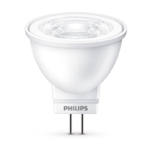 PHILIPS LED reflector MR11 3W/20W GU4 2700K 190lm/36°  NonDim 15Y BL